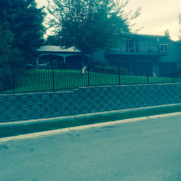 Ground Effects Landscaping and Snow Removal in Anchorage retaining wall photo