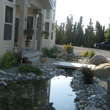 Ground Effects Landscaping & Snow Removal in Anchorage water feautures photo