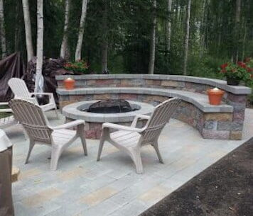 Ground Effects Landscaping & Snow Removal in Anchorage custom deck photo