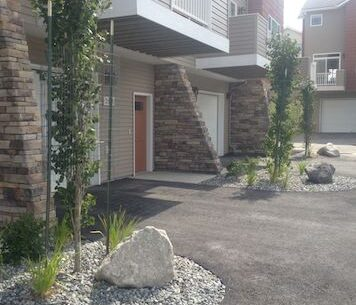 Ground Effects Landscaping & Snow Removal in Anchorage: rock garden photo