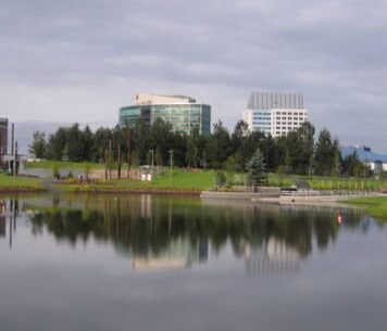 Ground Effects Landscaping & Snow Removal in Anchorage: water effects photo